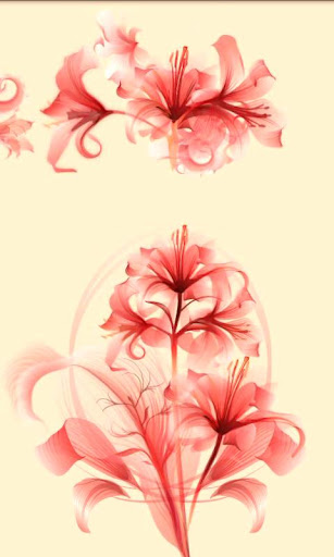 Sheer Petals Live Wallpaper