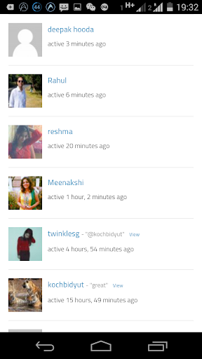 Indian Social Networking