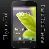 ThyrusHolo Basic CM10 Theme