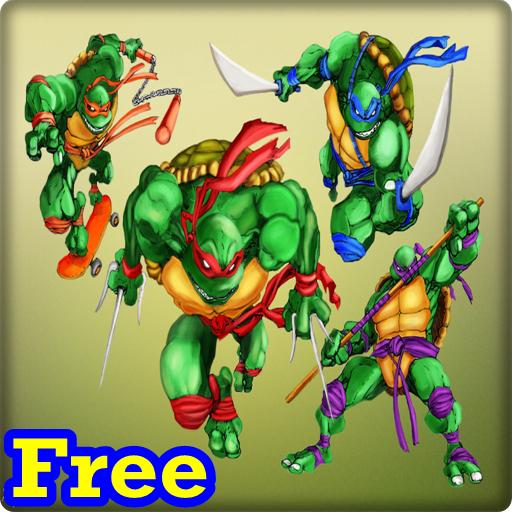 ninja turtle puzzles LOGO-APP點子