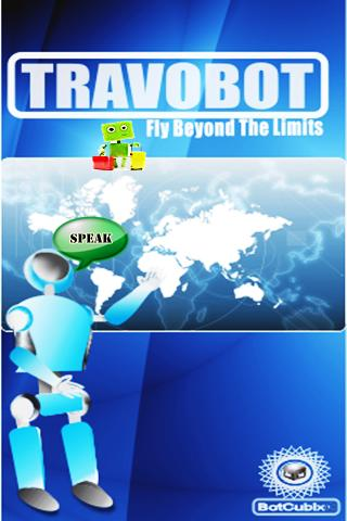 TravoBot- screenshot