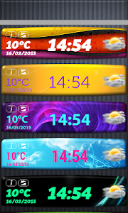 Ultimate Weather And Clock screenshot 1