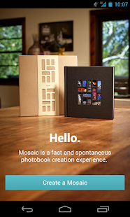 Mosaic Photo Books - screenshot thumbnail