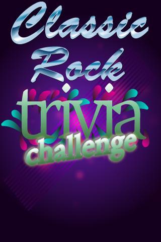 Classic Rock Trivia Challenge
