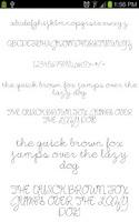 Screenshot of Fonts for Galaxy FlipFont Free