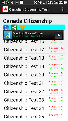 Canada Citizenship Test 2015