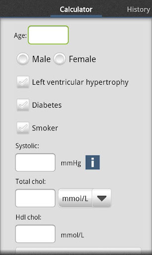 Cardiac risk calculator