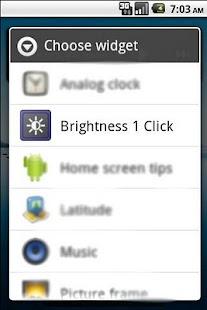 Brightness 1 Click - náhled