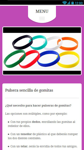 Pulseras con Gomas 1.0 screenshots 3