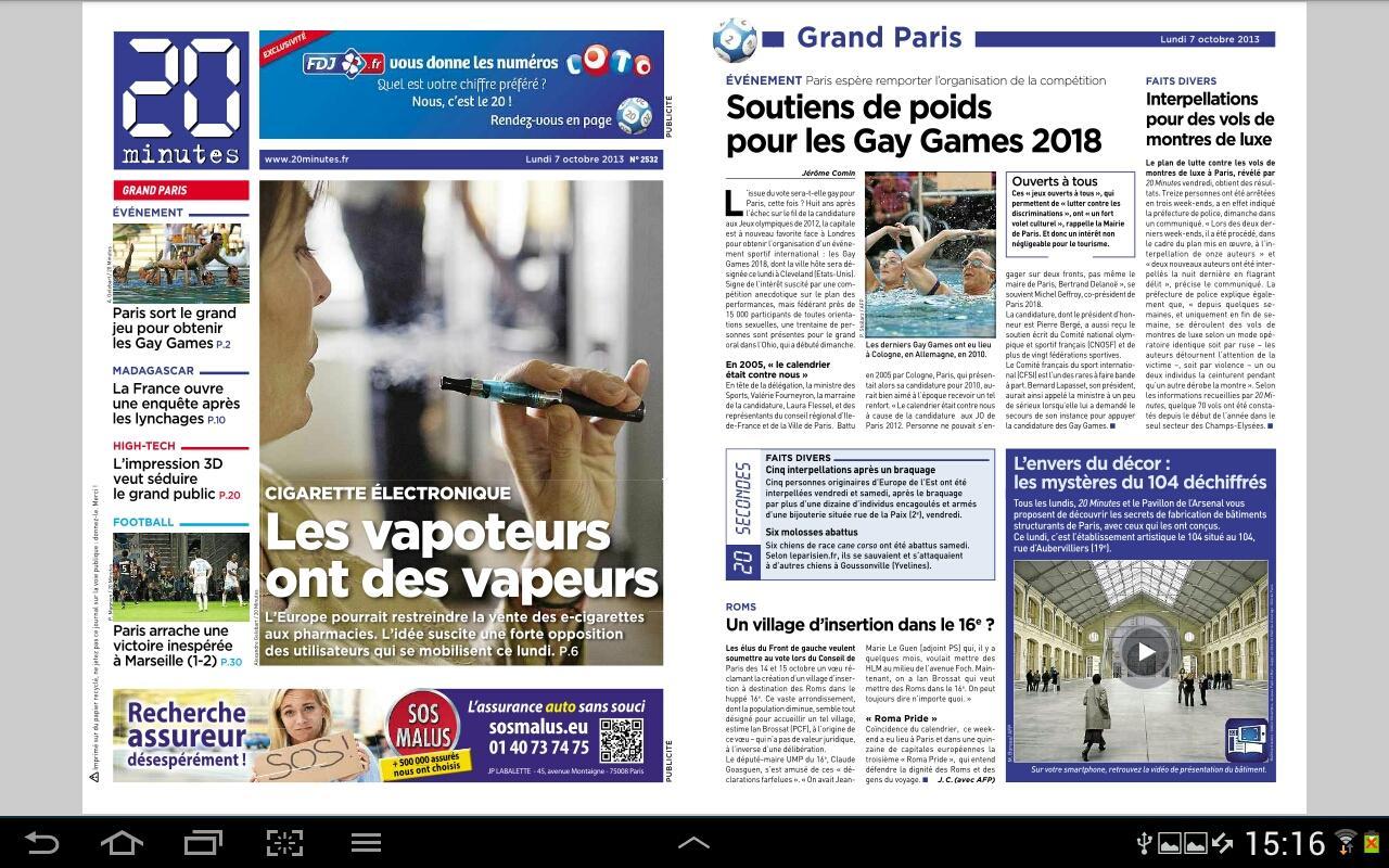 journal 20 Le site du journal le soir, premier site d'information en belgique francophone actu en continu, archives gratuites, galeries photos, podcast, vidéos, blogs de la.
