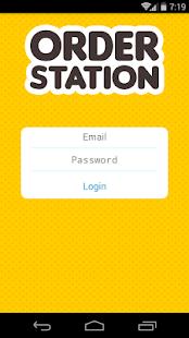OrderStation - náhled