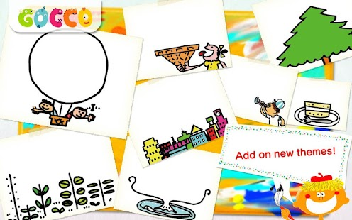 Gocco Doodle - Paint&Share- screenshot thumbnail