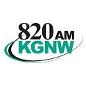 820 KGNW-AM logo