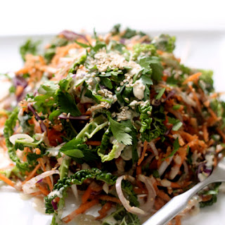 Roasted Sesame Winter Slaw