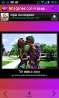 Screenshot of Imagenes con Frases Romanticas