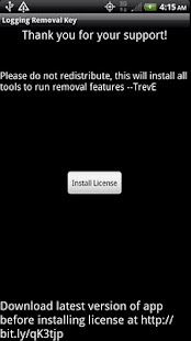 Logging TestApp Pro Key - ROOT - screenshot thumbnail