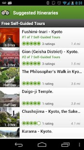 Kyoto City Guide - screenshot thumbnail