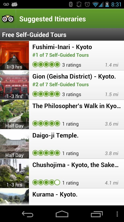 Kyoto City Guide - screenshot