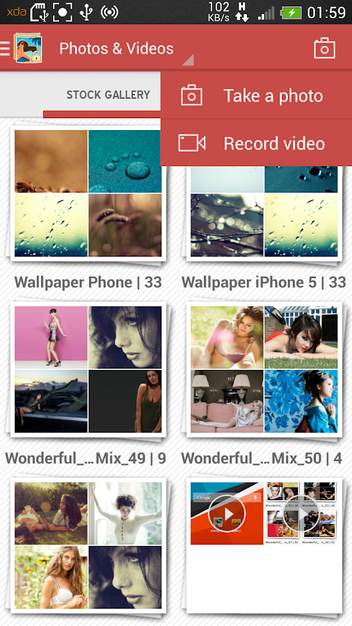 how to delete auto backup photos on android phone gallery