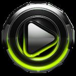 Poweramp skin Lime Glow v1.42