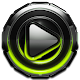 Poweramp skin Lime Glow v1.42