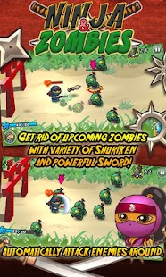 Ninja and Zombies- screenshot thumbnail