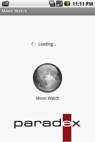 Moon Watch- screenshot