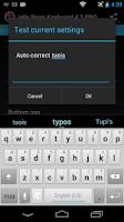 Screenshot of Jelly Bean Keyboard 4.3 Free