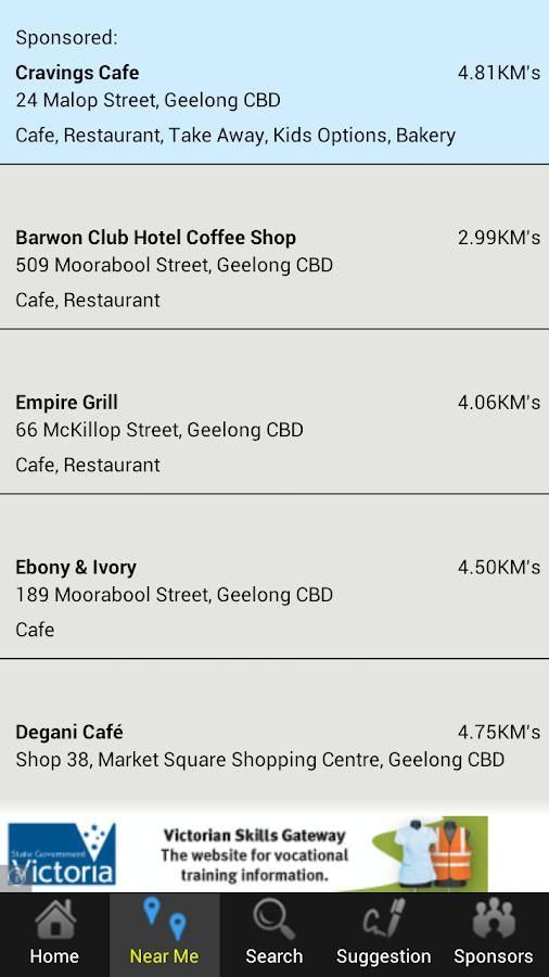 Gluten Free Eating Out Lite - screenshot