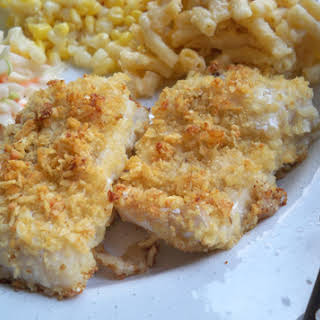 Oven Baked Fish.