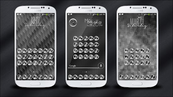 SILVERi Icons / Theme- screenshot thumbnail