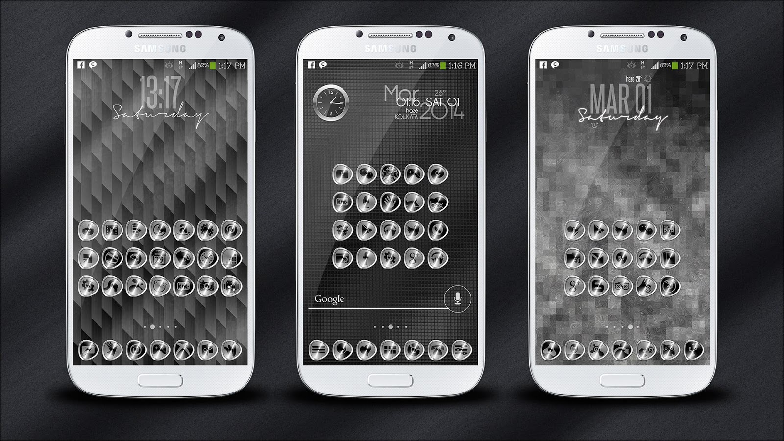 SILVERi Icons / Theme- screenshot