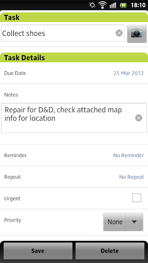Todo List - Tasks N Todo's - screenshot
