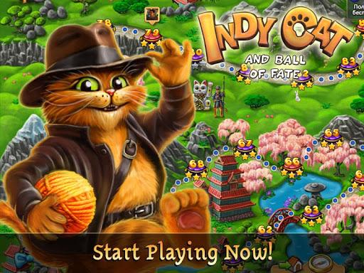 Indy Cat Match 3 (Mod Money)