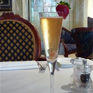 The Champagne Cocktail.