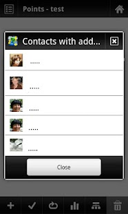 Locus - addon Contacts - screenshot thumbnail