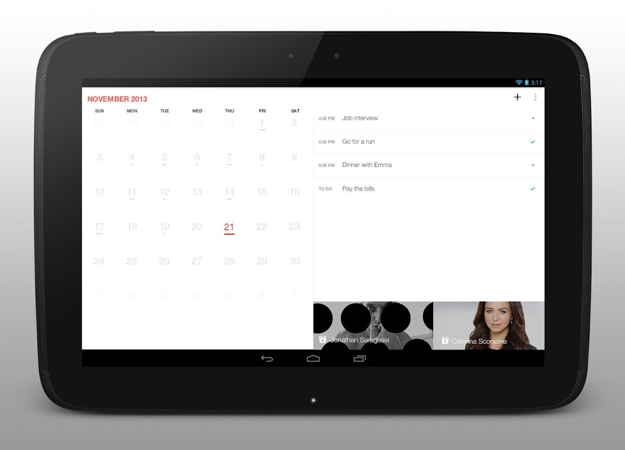 Cal - Calendar Google/Exchange - screenshot