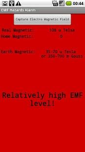 EMF Hazards Detector- screenshot thumbnail