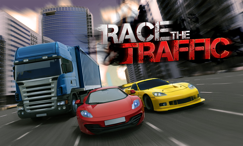Screenshots of Race the Traffic for iPhone