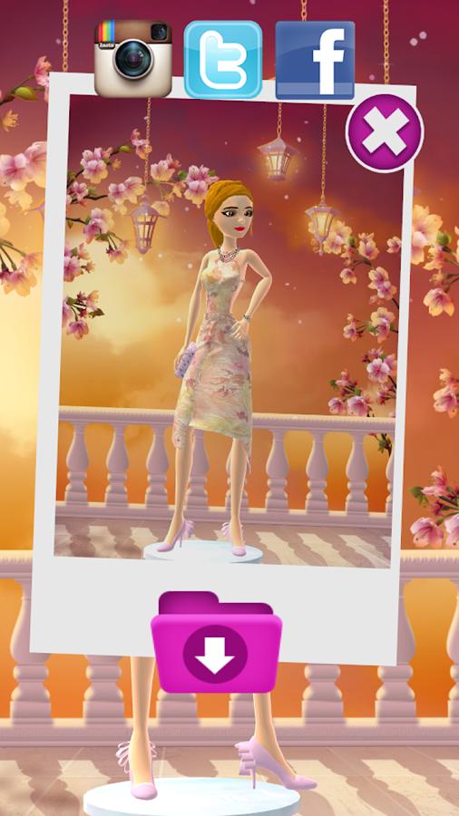 Princess dress up salon - Girl Games