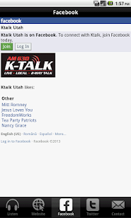 K-Talk Radio - screenshot thumbnail