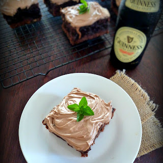 Irish Black & Tan Brownies.