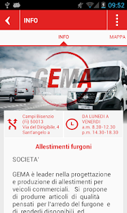 GEMA - Allestimenti - screenshot thumbnail