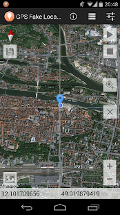 GPS Fake Location Toolkit Screenshot