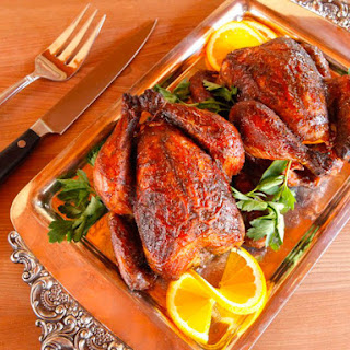 Marinated Cornish Game Hens