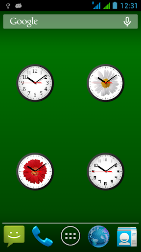 Analog Clock Widget-7