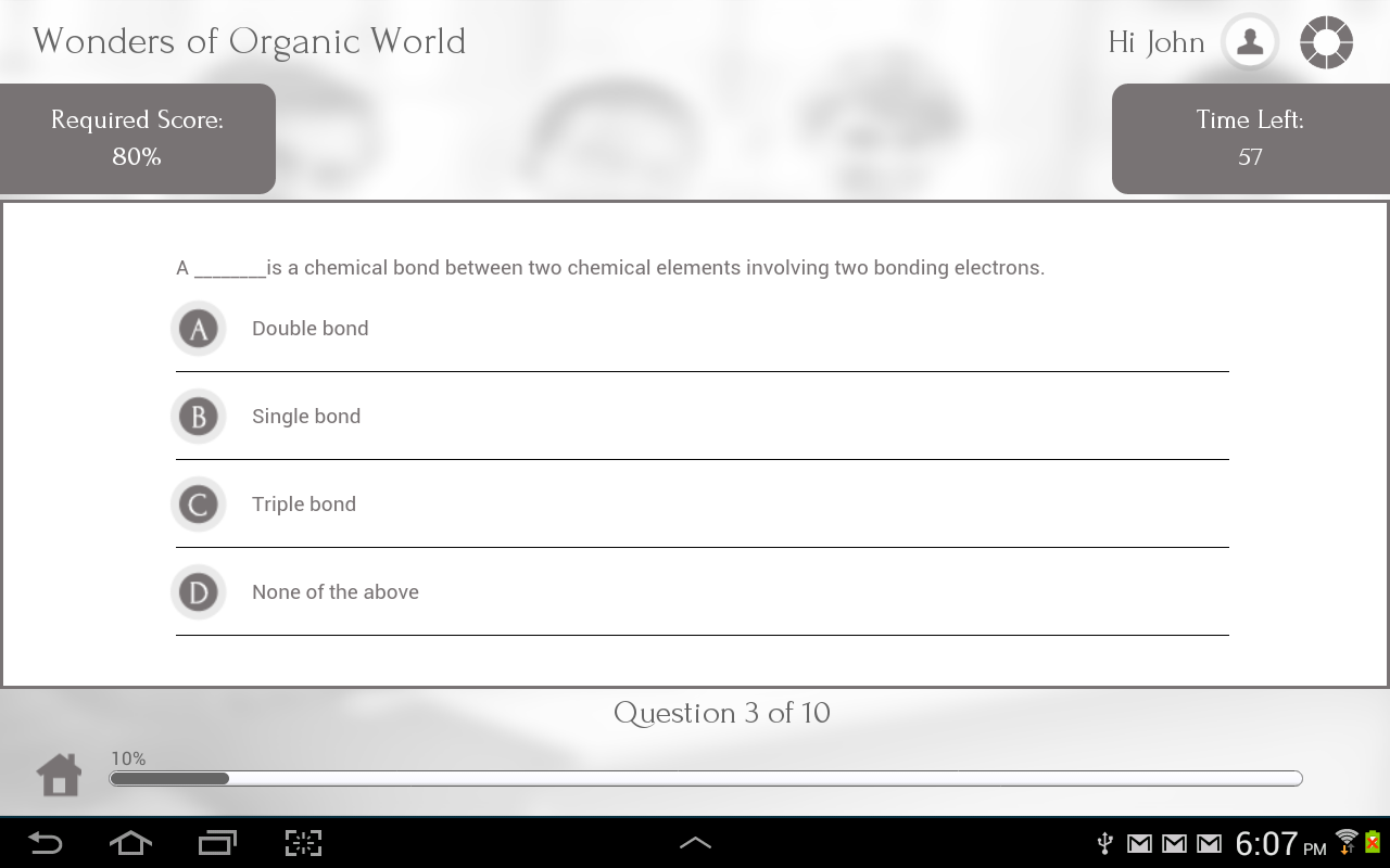 Learn Organic Chemistry - screenshot