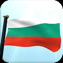 Bulgaria Flag 3D Free icon