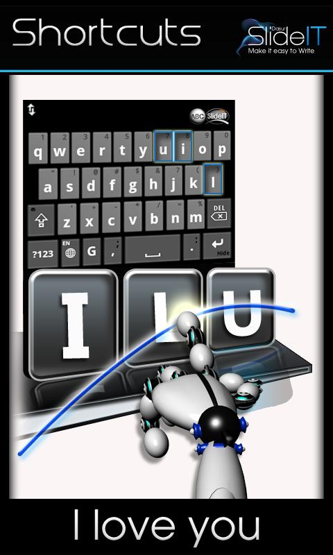 SlideIT Keyboard - screenshot