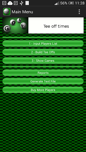 Tee Off Times app (apk) free download for Android/PC/Windows screenshot